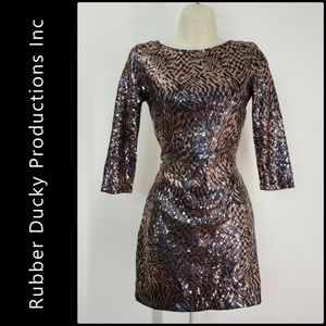 Rubber Ducky Productions Inc. Woman Sequins Dress